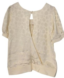 Sally Tseng Short Top Ivory