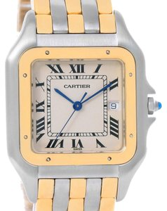Cartier Cartier Panthere Jumbo Steel 18K Yellow Gold Three Row Watch