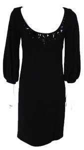 Karen Kane short dress Black Empire Waist Knee Length on Tradesy