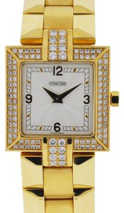 Concord Concord La Scala 18k Yellow Gold Diamond Watch