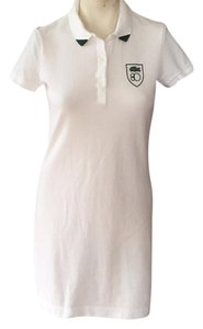 Lacoste short dress White on Tradesy