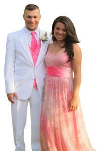 NV Couture Long Sparkle Prom Dress