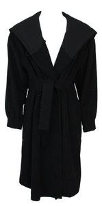 Shin Choi A Line Knee Length Front Tie Trench Coat