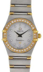 Omega Omega Constellation Two Tone MOP Ladies Watch