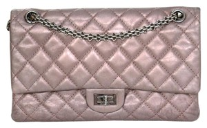 Chanel Flap Reissue Gunmetal Shoulder Bag