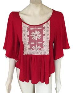 Alya Top Red
