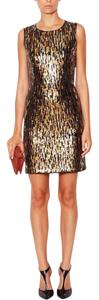Shoshanna Party Sequin Sheath Sleeveless Dress