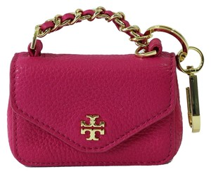 Tory Burch TORY BURCH Mini Kira Key FOB, Carnation Red