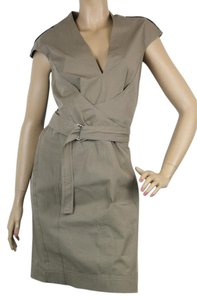 Gucci short dress Light Brown Knee-length on Tradesy