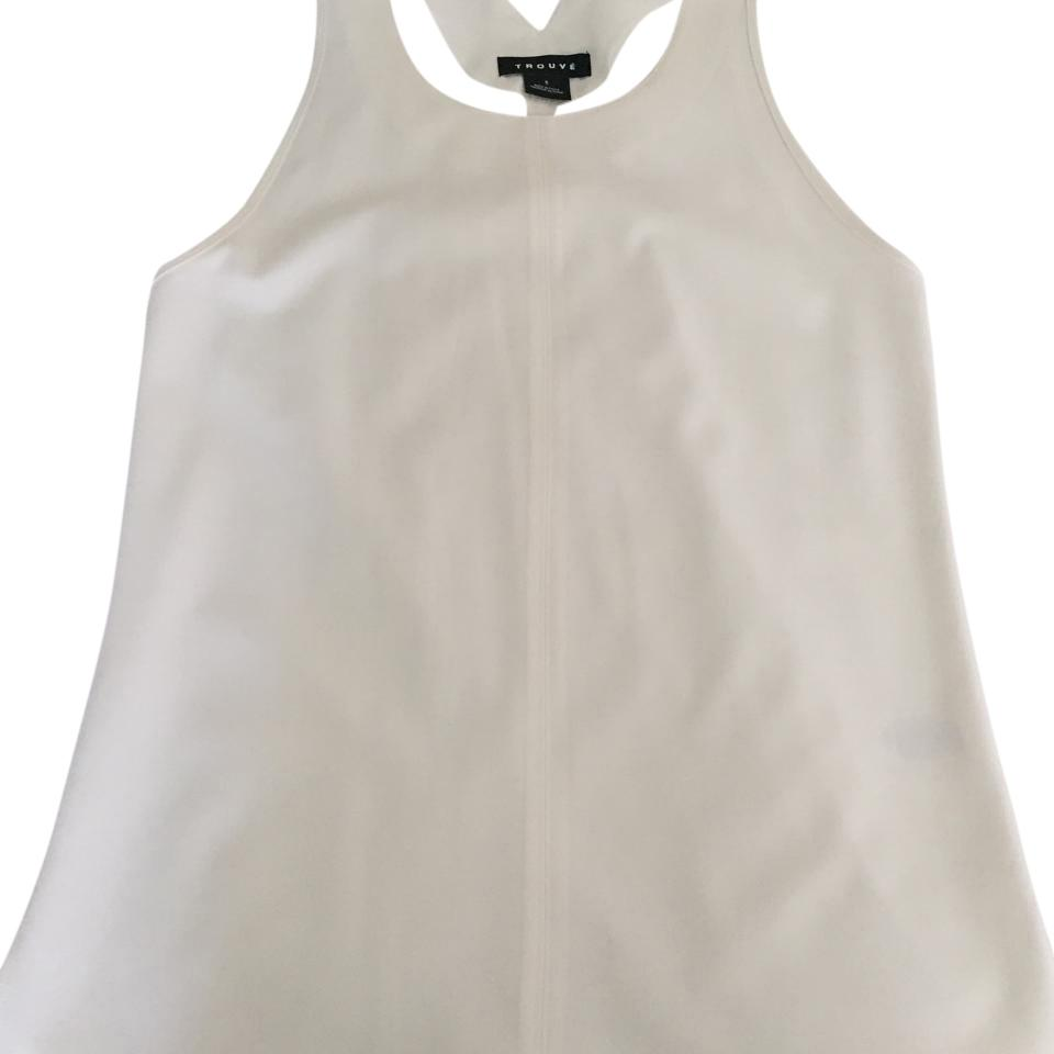 f168ace9346d5 Nordstrom White Shirt Tank Top Cami Size 4 (S) - Tradesy