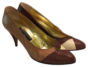 Andrea Pfister Couture Brown Pumps