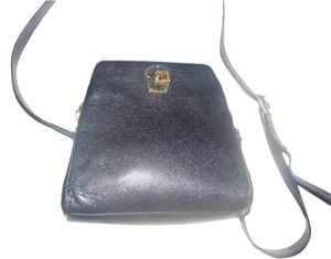Bally Gold Hardware Petite But Roomy Mint Vintage Two-way Style Cross Body Bag