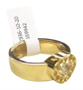Chopard Chopard Happy Diamond Ring Yellow Gold