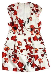 Karen Millen short dress Multi Color Floral Sleeveless on Tradesy