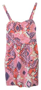 American Eagle Outfitters Bohemian Tribal Corset Aztec Dress