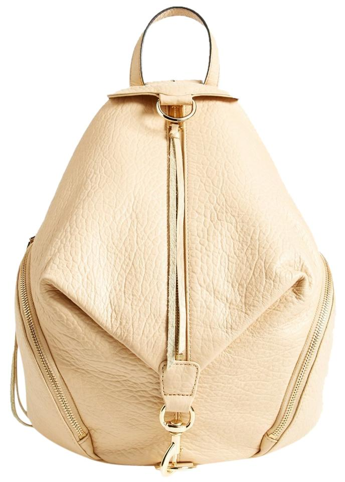 a98d839272 Rebecca Minkoff New Julian Hs16ipbb01 Biscuit Light Beige Leather Backpack