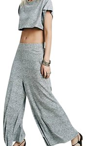 Free People Beach Relax Daytime Flare Pants gray