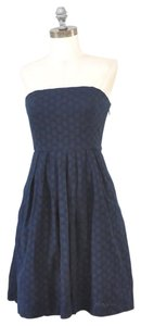 Gap Eyelet Strapless Small Dress