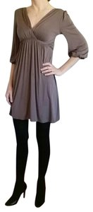 Soprano short dress Gray on Tradesy