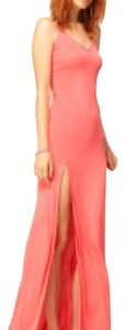 Coral pink Maxi Dress by ASOS