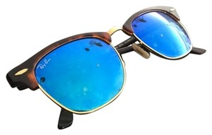 Ray-Ban Ray Ban Mirrored Flash Blue Lenses Club Masters