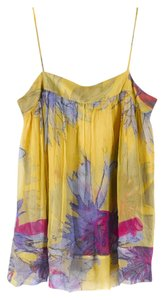 Diane von Furstenberg Datenight Girlsnight Workcami Top yellow