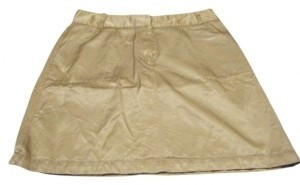 The Limited Mini Skirt Gold