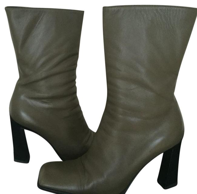 Item - Olive 38.5 Boots/Booties Size US 8.5 Regular (M, B)