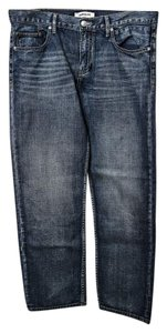 Quiksilver Quicksilver Mens Regular Fit Straight Leg Jeans-Medium Wash