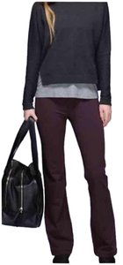 Lululemon NWT LULULEMON GROOVE PANTS REGULAR SIZE 4 BLACK CHERRY