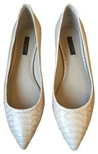 Louis Vuitton Nude Beige Lv Exotic Galet Flats