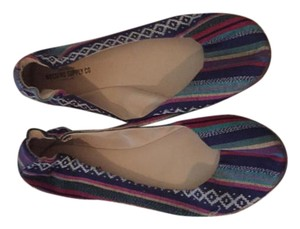Mossimo Supply Co. Aztec Print Multi-Color Flats