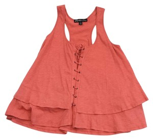 Elizabeth and James Coral Cotton Top