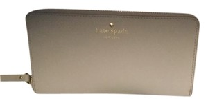 Kate Spade New Cedar Street Lacey Leather Wallet Stone ice
