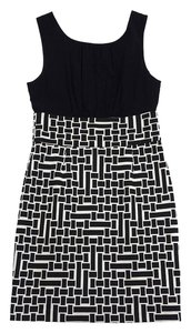 Trina Turk short dress Black White Geo Print Print on Tradesy