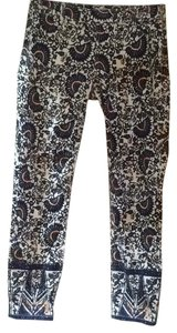 Tory Burch Skinny Pants Madura B New Ivory