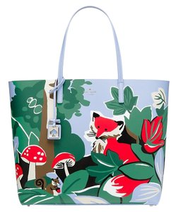 Kate Spade Tote in foxy forest scene