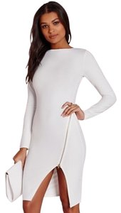 Missguided Zip-detail Mini Dress