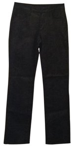 NYDJ Python Snake Fall Straight Pants Black gray silver