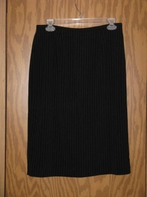 East 5th Essentials East 5th Essentials Black Pin Stripe Skirt Suits