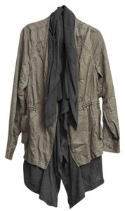Hei Hei Cargo Draped Grayish Green Jacket