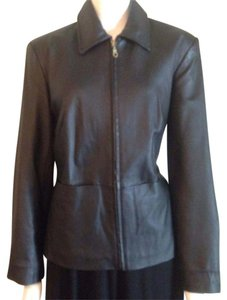 Ami Leather Jacket