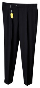 Hugo Boss Mens Dress Pant Trouser/Wide Leg Jeans-Dark Rinse