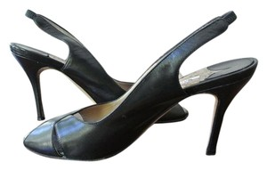 Manolo Blahnik Manolo Manolo Manolos Manolo Slingbacks Manolo Sandals Black Pumps