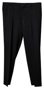 Hugo Boss Stripe Mens Trouser/Wide Leg Jeans-Dark Rinse