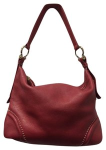 Donald J. Pliner Leather Shoulder Bag