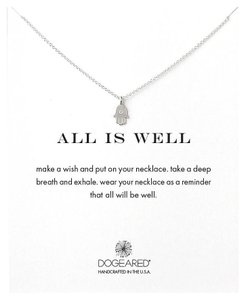 Dogeared All Is Well Hamsa