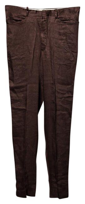 Item - Brown Medium Wash Trouser/Wide Leg Jeans Size OS (one size)