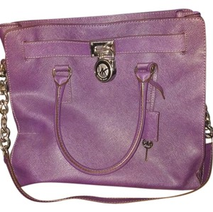 Michael Kors Satchel in Dark purple