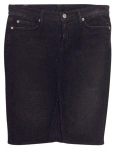 7 For All Mankind Skirt Dark grey